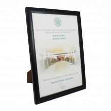 Framed Certificate Pathway to Paradise